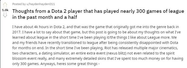 Game thủ kỳ cựu Dota 2 với 4.000 giờ chơi nghĩ sao về LMHT? - Ảnh 1.