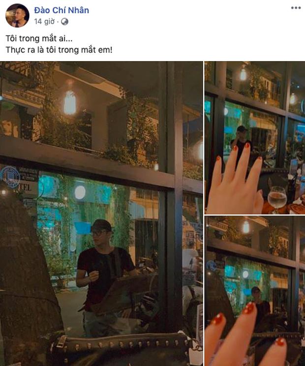 Minh Hà lộ ảnh tình tứ trai lạ, Chí Nhân cũng đăng luôn ảnh mập mờ khoe người mới? - Ảnh 2.