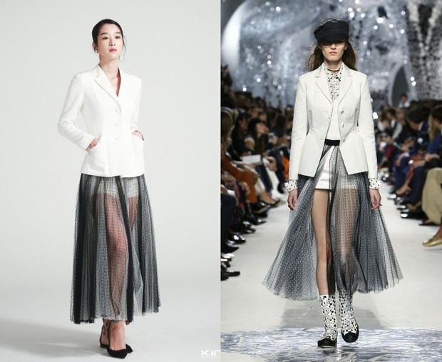 Từ 1 năm trước Seo Ye Ji đã mặc đẹp xuất sắc, diện váy xuyên thấu sexy chặt đẹp người mẫu của Dior - Ảnh 4.