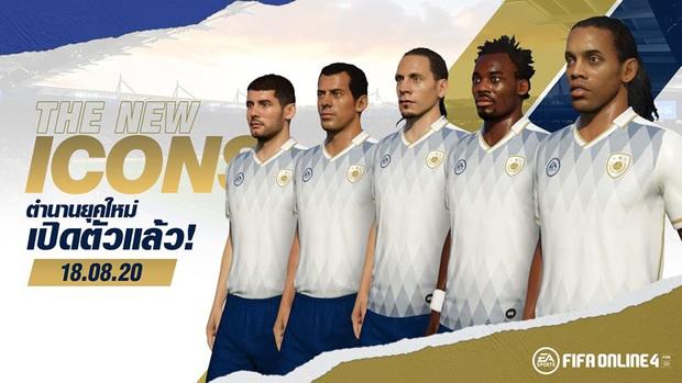 FIFA Online 4: Dàn ICONS mới Ronaldinho, Rio Ferdinand sắp sửa về làng - Ảnh 2.