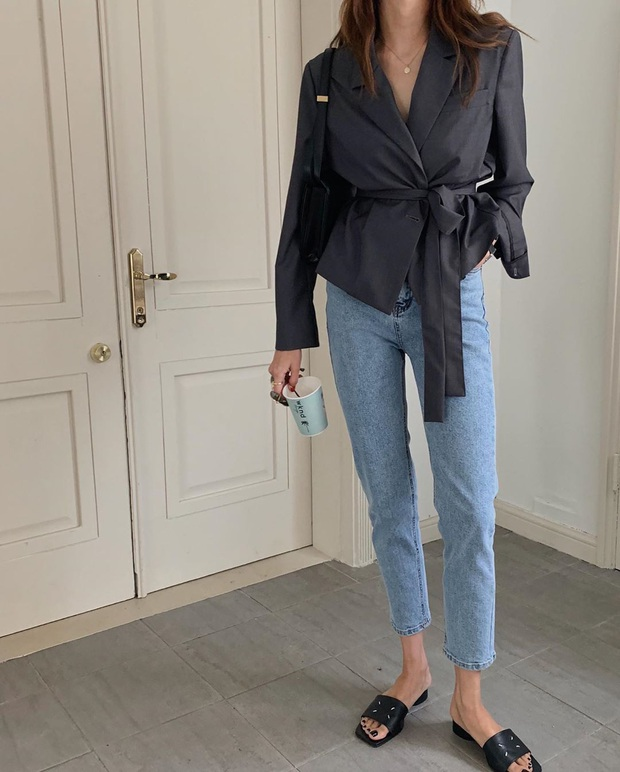 5 kiểu áo siêu hợp với quần skinny jeans, áp dụng thì chị em sẽ không bao giờ thất bại trong chuyện mặc đẹp - Ảnh 14.