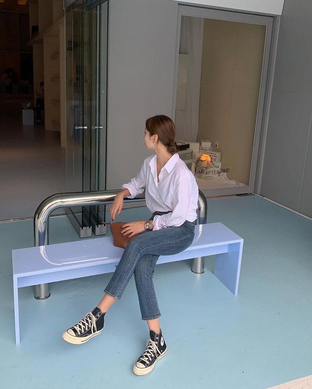 5 kiểu áo siêu hợp với quần skinny jeans, áp dụng thì chị em sẽ không bao giờ thất bại trong chuyện mặc đẹp - Ảnh 15.