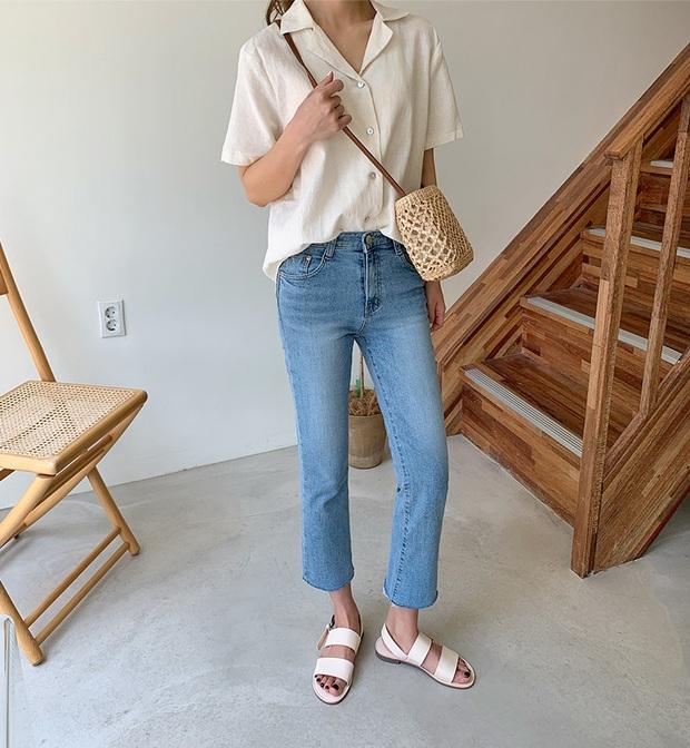 5 kiểu áo siêu hợp với quần skinny jeans, áp dụng thì chị em sẽ không bao giờ thất bại trong chuyện mặc đẹp - Ảnh 16.