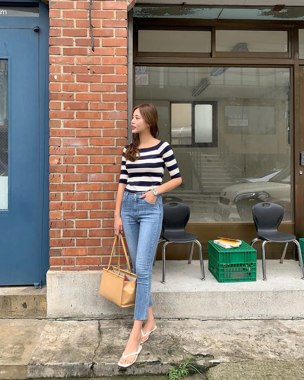 5 kiểu áo siêu hợp với quần skinny jeans, áp dụng thì chị em sẽ không bao giờ thất bại trong chuyện mặc đẹp - Ảnh 3.