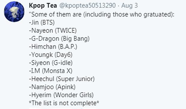 Mật báo Kbiz: Dispatch sắp khui nam thần BTS hẹn hò, TWICE có nguy cơ toang và girlgroup nổi tiếng bị bóc phốt thái độ - Ảnh 15.