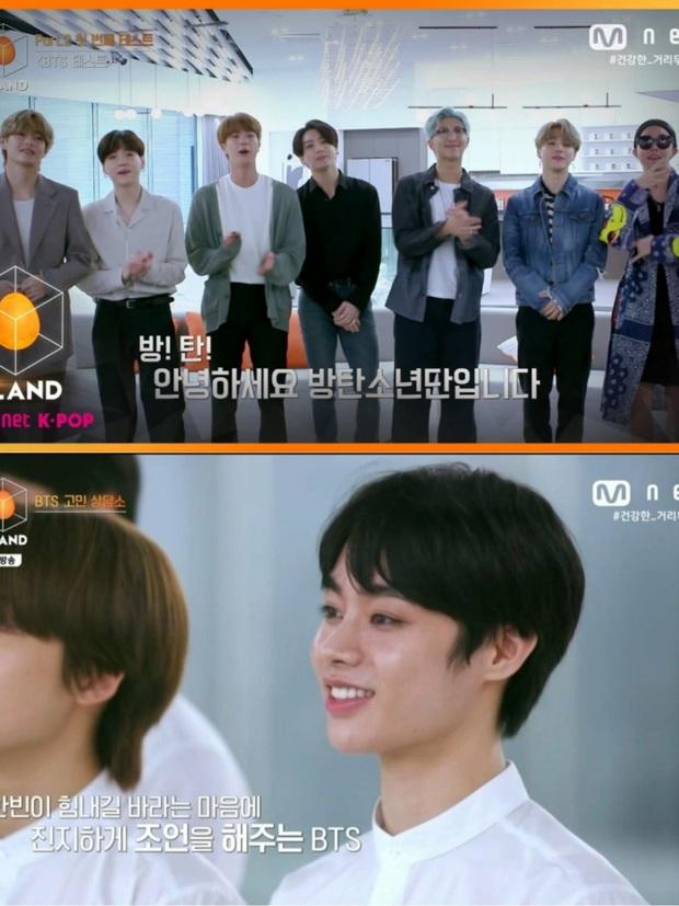 BTS khuyên thực tập sinh Hanbin của Việt Nam khi thiếu tự tin tại show của Big Hit: Đây cũng là điều chúng mình từng trải qua mà! - Ảnh 3.