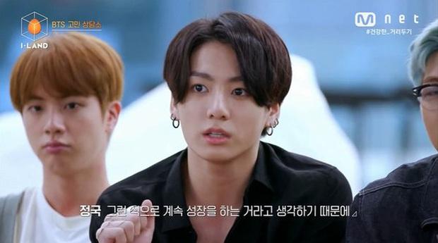 BTS khuyên thực tập sinh Hanbin của Việt Nam khi thiếu tự tin tại show của Big Hit: Đây cũng là điều chúng mình từng trải qua mà! - Ảnh 5.