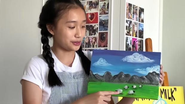 Big city girl Jenny Huỳnh cực đỉnh khoản vẽ vời, đi vài nét cơ bản mà thành quả quá là ưng - Ảnh 15.