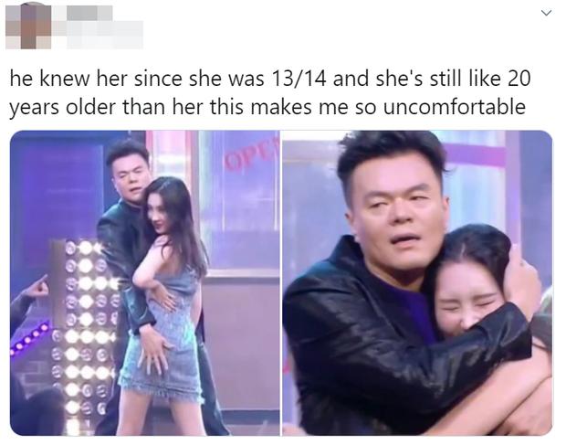Ông trùm JYP nhảy đôi với Sunmi cực tình tứ nhưng lại gây tranh cãi vì làm khán giả thấy không thoải mái, bị cho là phản cảm? - Ảnh 4.