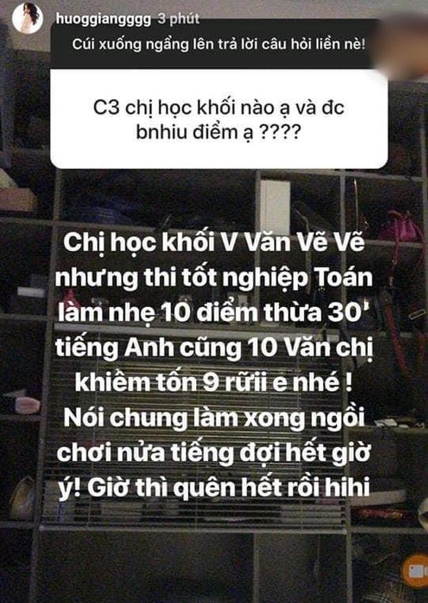 Hương Giang khoe điểm tốt nghiệp cấp 3 khủng, tiếng Anh thế này chẳng trách tự tin khi thi HH Chuyển giới Quốc tế 2018 - Ảnh 2.