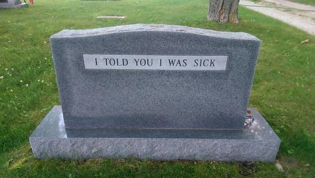 19 câu hài hước trên bia mộ của những người đã khuất nhưng độ lầy thì trường tồn cùng thời gian - Ảnh 7.