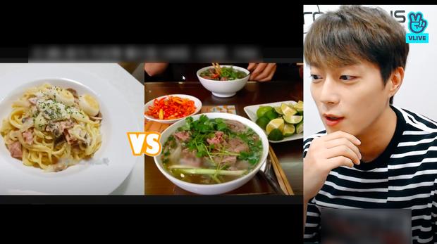 """Nam idol Kpop dành hẳn 2 tiếng rưỡi livestream để """"đàm đạo"""" về đồ ăn, fan gật gù: """"Không hổ danh là thực thần!"""" - Ảnh 4."""
