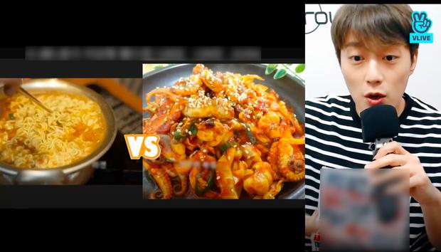 """Nam idol Kpop dành hẳn 2 tiếng rưỡi livestream để """"đàm đạo"""" về đồ ăn, fan gật gù: """"Không hổ danh là thực thần!"""" - Ảnh 2."""