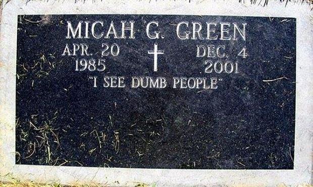 19 câu hài hước trên bia mộ của những người đã khuất nhưng độ lầy thì trường tồn cùng thời gian - Ảnh 15.