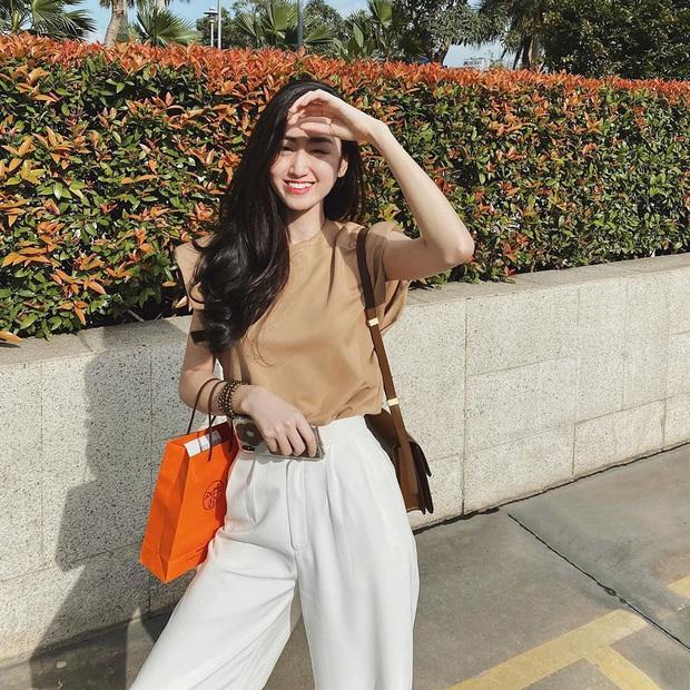 Street style tràn ngập tông màu mùa thu của sao và hot girl Việt: Toàn outfit xinh xắn sành điệu nhưng cực dễ bắt chước  - Ảnh 7.