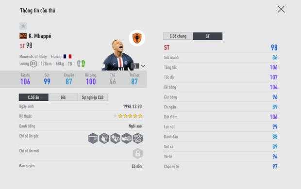 FIFA Online 4: Mùa thẻ mới Moment of Glory (MOG) có gì đặc biệt? - Ảnh 9.