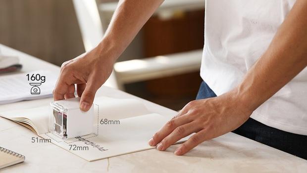 Thú vị với máy in màu mini cầm tay nhỏ nhất thế giới, có thể in trên mọi chất liệu, giá chưa tới 5 triệu đồng - Ảnh 1.