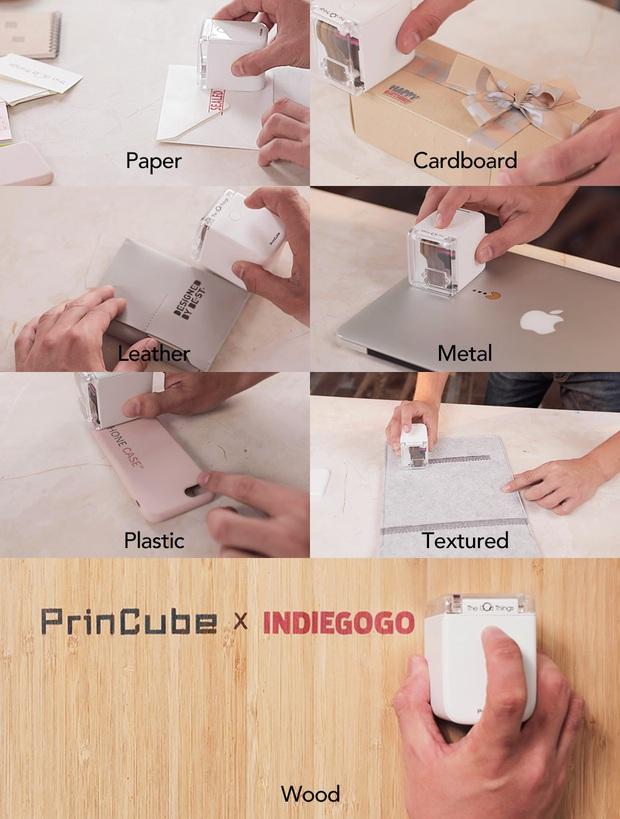 Thú vị với máy in màu mini cầm tay nhỏ nhất thế giới, có thể in trên mọi chất liệu, giá chưa tới 5 triệu đồng - Ảnh 2.
