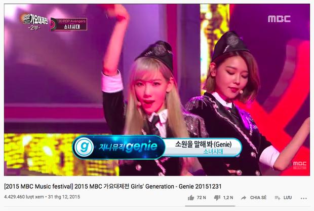 Sân khấu MBC Gayo Daejejeon đỉnh cao của SNSD và T-Ara sau 7 năm không đánh bại được đàn em về lượt view nhưng #1 mới bất ngờ - Ảnh 3.