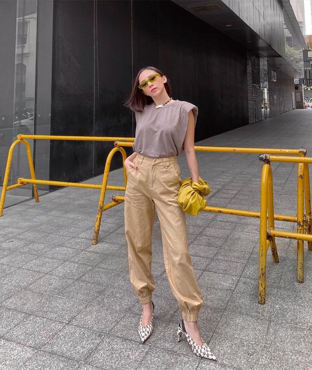 Street style tràn ngập tông màu mùa thu của sao và hot girl Việt: Toàn outfit xinh xắn sành điệu nhưng cực dễ bắt chước  - Ảnh 1.