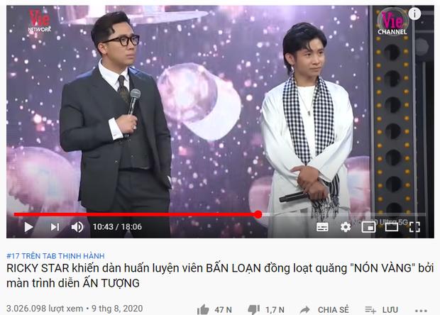 Rap Việt lập cú hattrick khi tập 3 vừa lên sóng đã giành ngay top 1 trending YouTube - Ảnh 4.