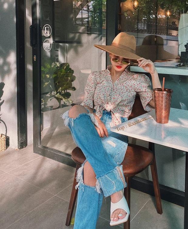 Street style tràn ngập tông màu mùa thu của sao và hot girl Việt: Toàn outfit xinh xắn sành điệu nhưng cực dễ bắt chước  - Ảnh 11.