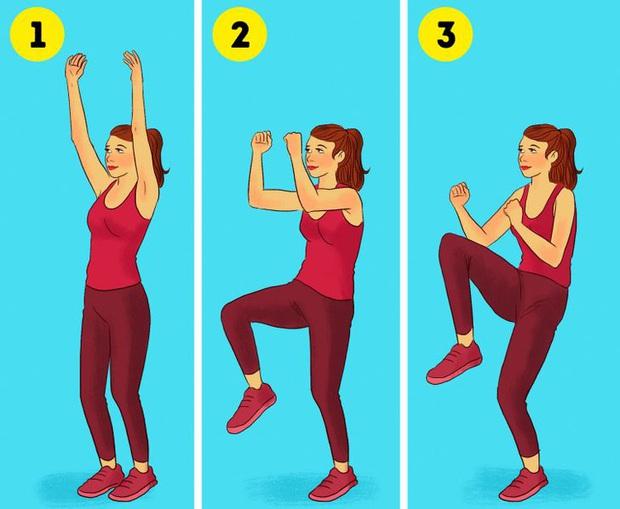 Điểm mặt 3 bài tập cardio tại nhà giúp đốt cháy mỡ thừa nhiều hơn chạy bộ, cách thực hiện vô cùng đơn giản - Ảnh 3.