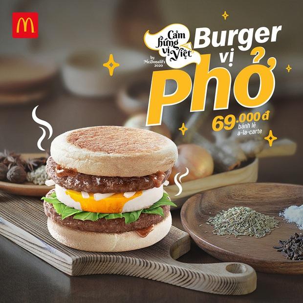 Ăn thử burger vị phở vừa ra mắt của McDonald's: Thơm nức mũi, đủ ngon nhưng hình như thiếu món gia vị quan trọng nhất? - Ảnh 1.