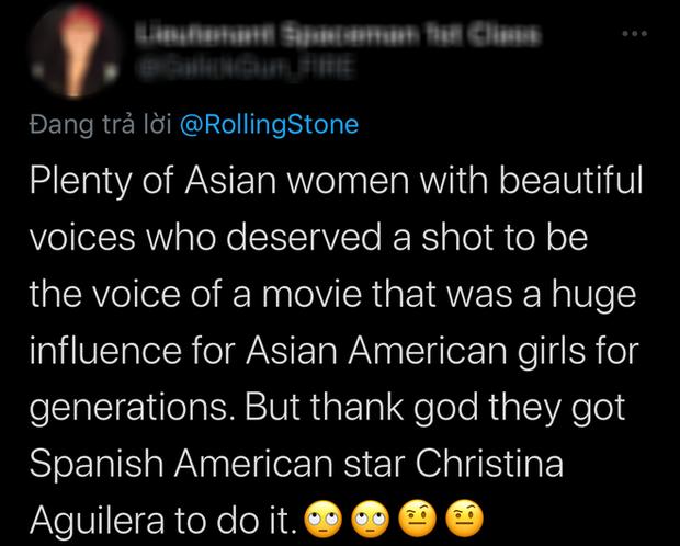 Mulan tung nhạc phim siêu xịn của Christina Aguilera nhưng lại ép Lưu Diệc Phi làm nền khiến netizen sôi máu - Ảnh 4.