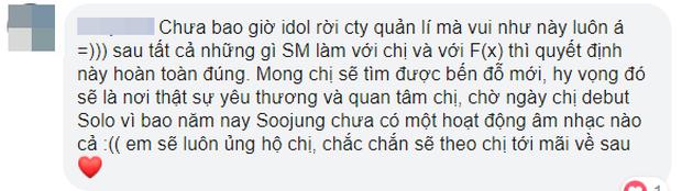 Krystal rời SM sau hơn 10 năm, fan không bất ngờ mà còn… chúc mừng, mong thành viên f(x) tìm được bến đỗ tốt hơn - Ảnh 9.