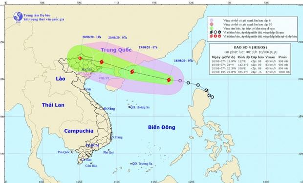 Bão số 4 giật cấp 10 trên Biển Đông, miền Bắc mưa lớn tầm tã, nhiều nơi nguy cơ ngập - Ảnh 1.