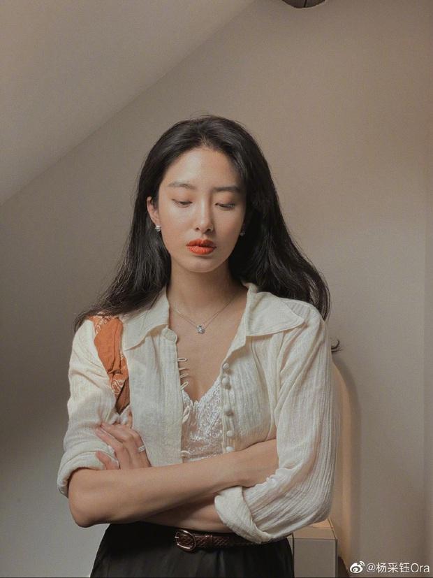 Người tình của cha nuôi Lưu Diệc Phi: Nhan sắc chẳng kém thần tiên tỷ tỷ, style đẹp như gái Pháp khiến dân tình mê mẩn - Ảnh 1.