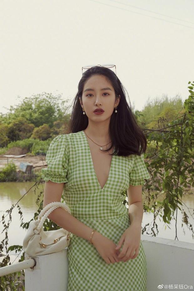 Người tình của cha nuôi Lưu Diệc Phi: Nhan sắc chẳng kém thần tiên tỷ tỷ, style đẹp như gái Pháp khiến dân tình mê mẩn - Ảnh 2.