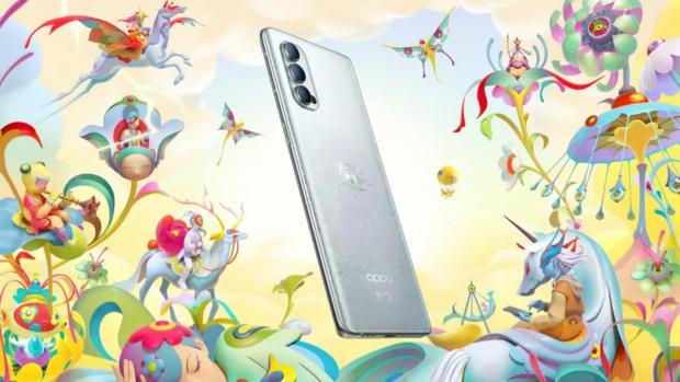 Oppo giới thiệu phiên bản Oppo Reno 4 Pro 5G giới hạn, thiết kế cổ tích, đẹp mắt, có giá 14 triệu đồng - Ảnh 2.