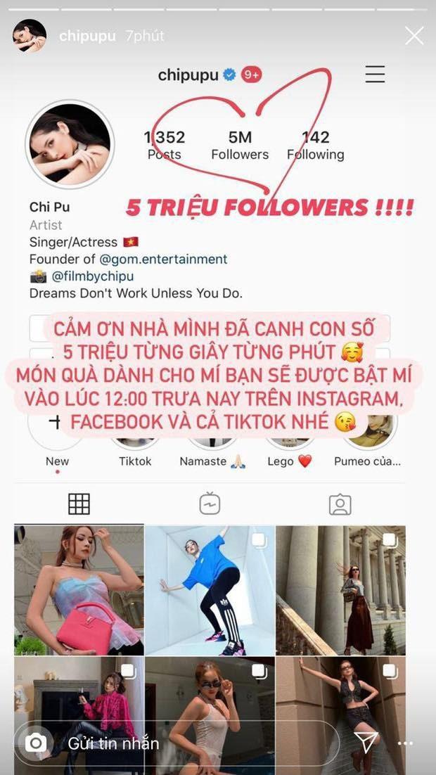 Instagram của Chi Pu tăng giảm thất thường lượng follower, cư dân mạng đặt ra nhiều nghi vấn! - Ảnh 1.