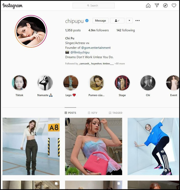 Instagram của Chi Pu tăng giảm thất thường lượng follower, cư dân mạng đặt ra nhiều nghi vấn! - Ảnh 2.