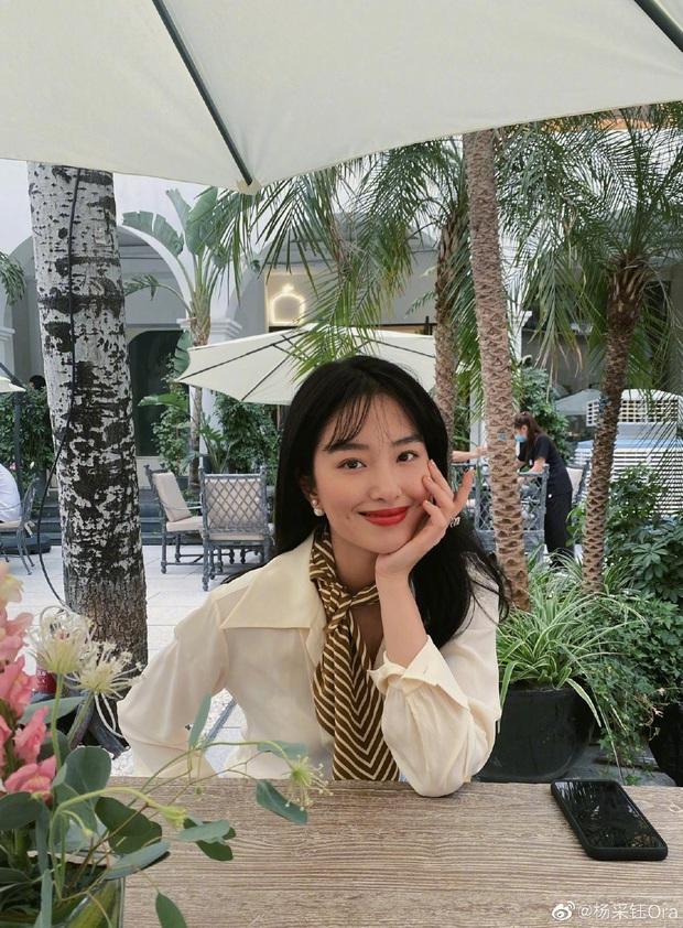 Người tình của cha nuôi Lưu Diệc Phi: Nhan sắc chẳng kém thần tiên tỷ tỷ, style đẹp như gái Pháp khiến dân tình mê mẩn - Ảnh 4.