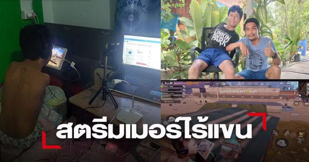 Nam game thủ cụt cả 2 tay vẫn stream PUBG Mobile kiếm sống khiến cộng đồng khâm phục - Ảnh 5.