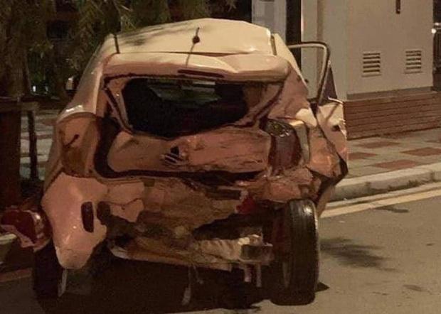 Hiện trường xe điên Lexus gây tai nạn liên hoàn khiến nữ công an phường tử vong - Ảnh 5.