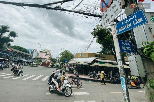 Cận cảnh con đường ở Quận 10 sẽ được cải tạo thành phố đi bộ thứ 3 ở Sài Gòn với chiều dài 100 mét - Ảnh 1.