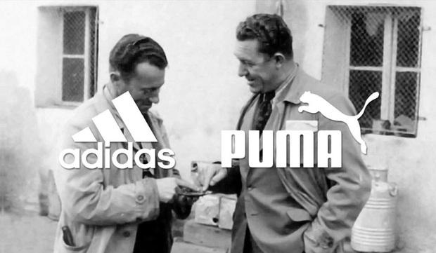 Huyền thoại gay cấn giữa Adidas và Puma: Từ anh em ruột thịt đến kẻ thù không đội trời chung, chia cắt cả một thị trấn suốt 70 năm - Ảnh 1.