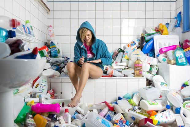 Ngôi nhà của bạn sẽ ra sao khi không vứt rác trong 4 năm liền? - Ảnh 2.