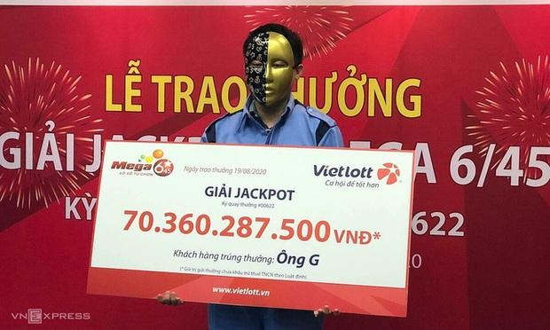 9x ở Hà Nội trúng Vietlott hơn 70 tỷ sau khi mua 1 vé số 10 nghìn đồng - Ảnh 1.
