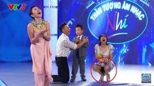 Sao hớ hênh trên sóng truyền hình: Từ Mai Phương Thúy đến Phạm Quỳnh Anh đều ngượng chín mặt vì váy áo phản chủ - Ảnh 14.