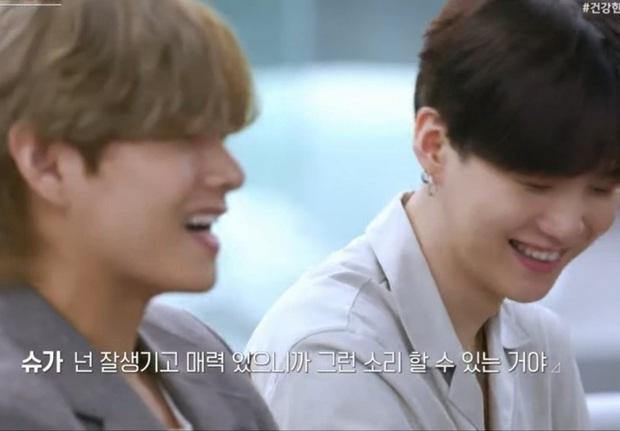 Suga (BTS) an ủi thí sinh tự ti về ngoại hình: Ngay cả anh còn được debut cơ mà! - Ảnh 5.