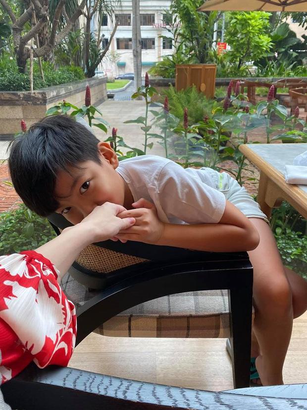 Hà Hồ quả là số hưởng: Cuối tuần được con trai vào bếp nấu ăn tẩm bổ, Kim Lý quấn lấy vợ bầu không rời! - Ảnh 6.