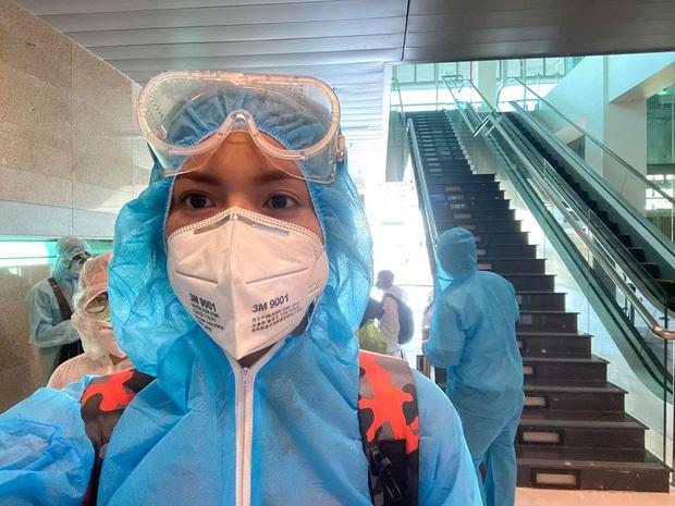 Sau thông tin người cùng chuyến bay đã nhiễm Covid-19, Minh Tú chính thức có kết quả xét nghiệm lần 1 - Ảnh 5.