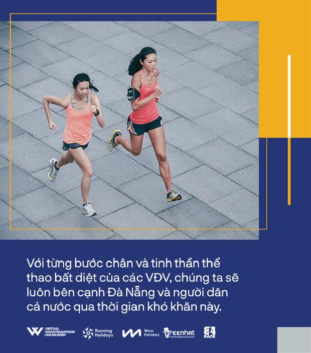 Tạm gác lại cung đường chạy tuyệt đẹp ở phố cổ, tinh thần thể thao tiếp nối với Virtual WOW Marathon Hội An 2020 - Ảnh 2.