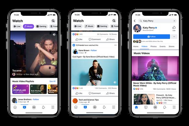 Công cuộc cày views cho idol sẽ cực nhọc gấp đôi: Facebook sắp được phát MV chính thức hệt như YouTube - Ảnh 1.