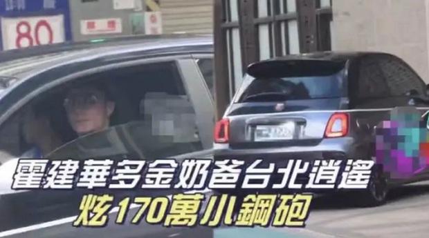 Cặp đôi Lâm Tâm Như ngày càng chịu chơi: Vợ khoe vòng 50 viên kim cương chói mắt, chồng tậu xế hộp tiền tỷ để đi chợ - Ảnh 4.